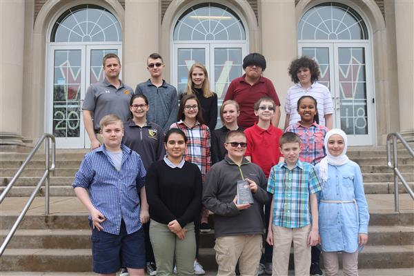 "WVW middle School Students get ""Most Creative Video"" Award"