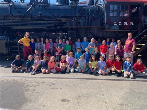State Street 4th grade visits Steamtown National Historic site for STEM
