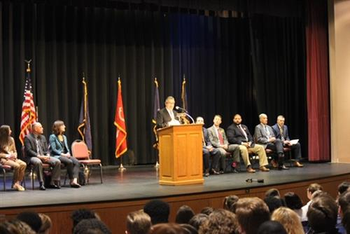 Wyoming Valley West High School was awarded the Gold Level Civic Engagement