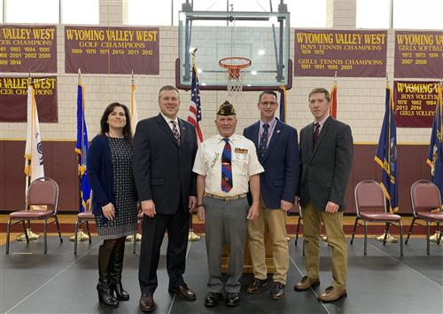 WVW High School Celebrates Veteran's Day
